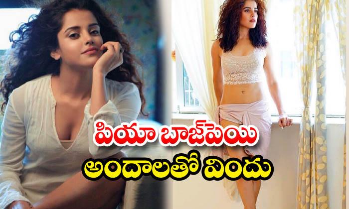 Pia Bajpiee Hot Looks And Romantic Images-పియా బాజ్పెయి అందాలతో విందు