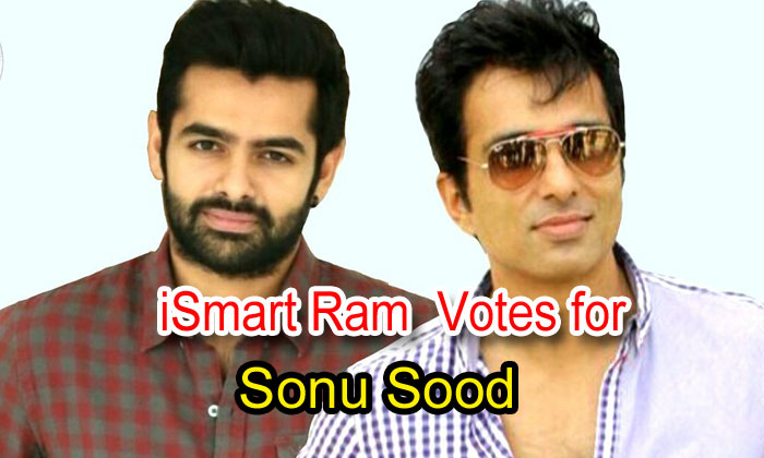 TeluguStop.com - Ismart Ram Votes For Sonu Sood