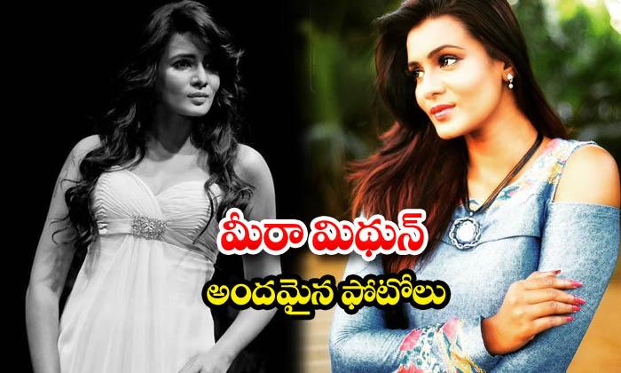 Tamil actress meera mitun sizzling images-మీరా మిథున్ అందమైన ఫోటోలు