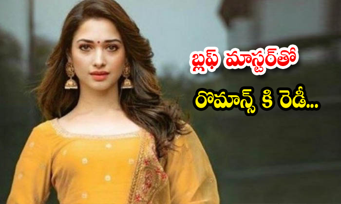 Tollywood Milky Beauty Tamanna Is Ready To Romance With Young Hero Satyadev