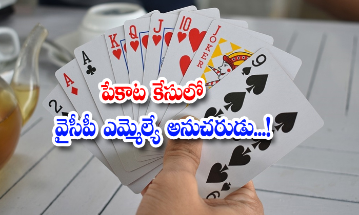 Andra Pradesh Ycp Mla Guntur Thadikonda Mla Follower