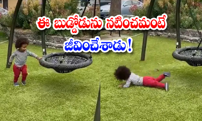 Baby Fake Falling After Touching Swing Video Goes Viral