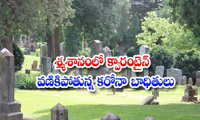 Covid 19 Grave Yard Corona Patients