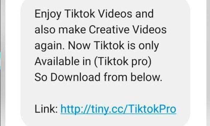 Telugu Cyber Crime, Facbook, Google, Tik Tok, Tik Tok Pro, Tik Tok Pro Message-