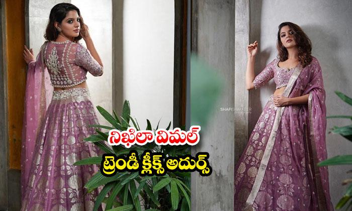 Actress Nikhila Vimal Trendy Clicks-నిఖిలా విమల్ ట్రెండీక్లిక్స్అదుర్స్