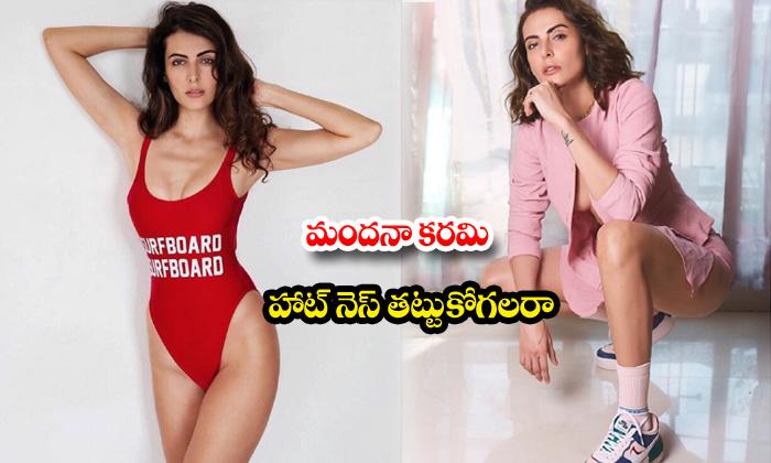 Actress mandana karimi hot and romantic poses-మందనా కరిమి హాట్ నెస్ తట్టుకోగలరా