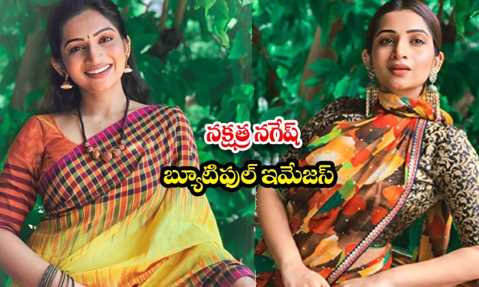 Actress nakshathra nagesh traditional attire-నక్షత్ర నగేష్ బ్యూటిఫుల్ ఇమేజస్