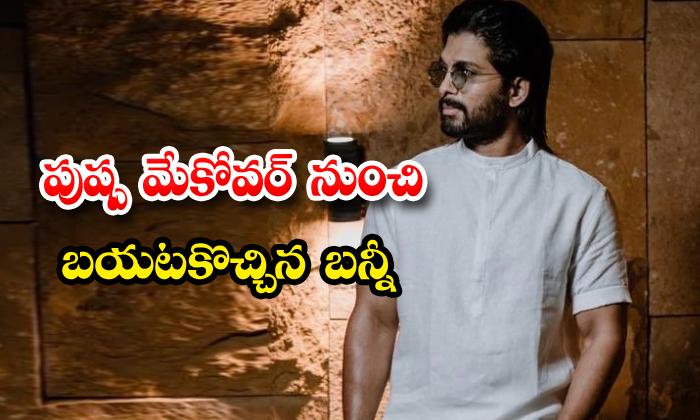 TeluguStop.com - Allu Arjun Transform To Natural From Pushpa