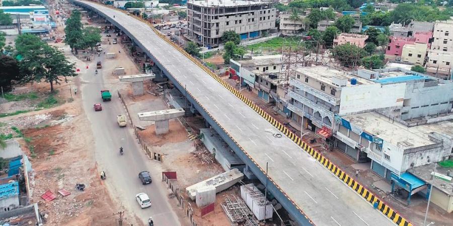 TeluguStop.com - Ktr To Inaugurates Bairamalguda Flyover To Public