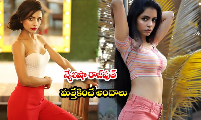 Bollywood Hot beauty nyeisha rajput sexy poses-న్యేఇషా రాజపుత్ మత్తెక్కించేఅందాలు