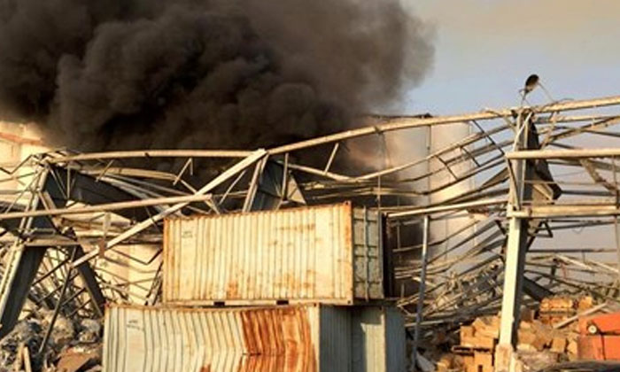 TeluguStop.com - Beirut Blast: Nearly 2,750 Tons Of Ammonium Nitrate Left Unsecured For 6 Years In A Warehouse-General-English-Telugu Tollywood Photo Image