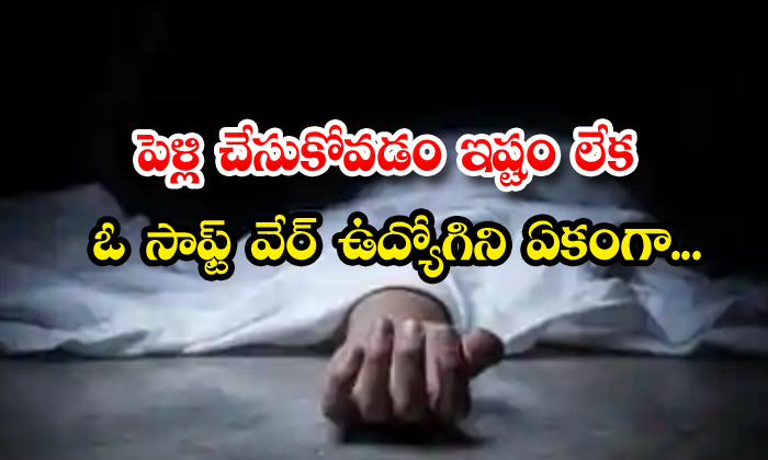 TeluguStop.com - Software Employee Committed Suicide In Hyderabad