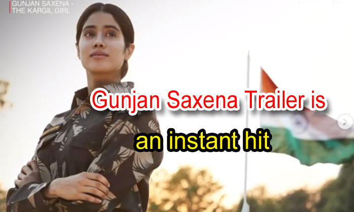 Gunjan Saxena Trailer Is An Instant Hit: Janhvi Kapoor Shines As The First Indian Female Air Force Pilot In Combat