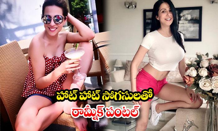 Model Ramneek Pantal spicy images- హాట్ హాట్ సొగసులతో రామ్నీక్ పంటల్