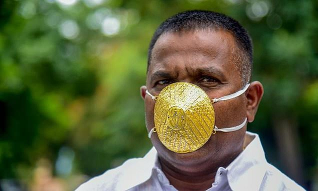 TeluguStop.com - World's Most Expensive Face Mask Costs $1.5 Million.