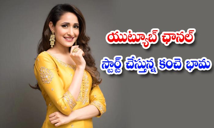 Pragya Jaiswal Youtube Channel Kanche Krish