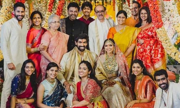 Telugu Celebrities At Rana Miheeka Bajaj Marriage, Miheeka Bajaj, Ram Charan And Upasana, Rana Daggubati, Social Media, Viral-