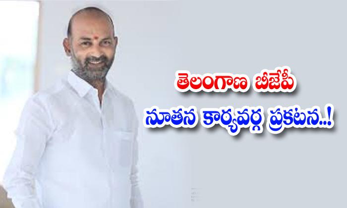 TeluguStop.com - Telangana Bjp Bandi Sanjay Bjp Leaders