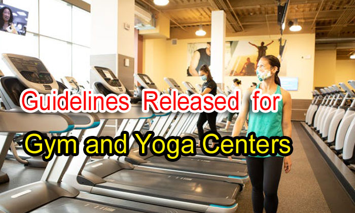 TeluguStop.com - Guidelines Released For Gym And Yoga Centers : Unlock 3.0
