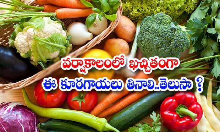 Health Vegetables Monsoon Health Tips Latest News