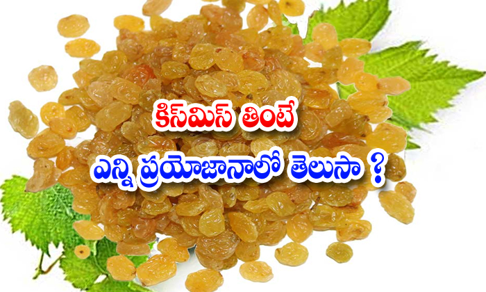 TeluguStop.com - Raisins Kismiss Iron Potassium Health Heart Stomach