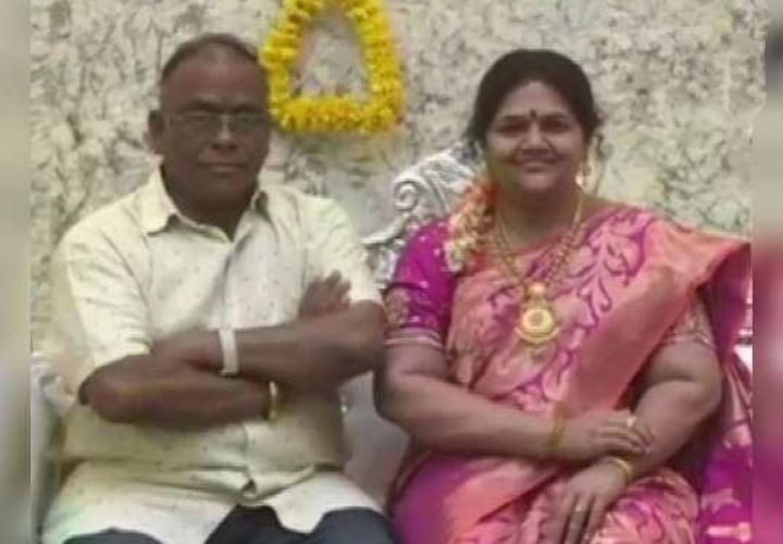 The husband who entered the house with his wife's wax figure ... Abhinava Sri Ramu
