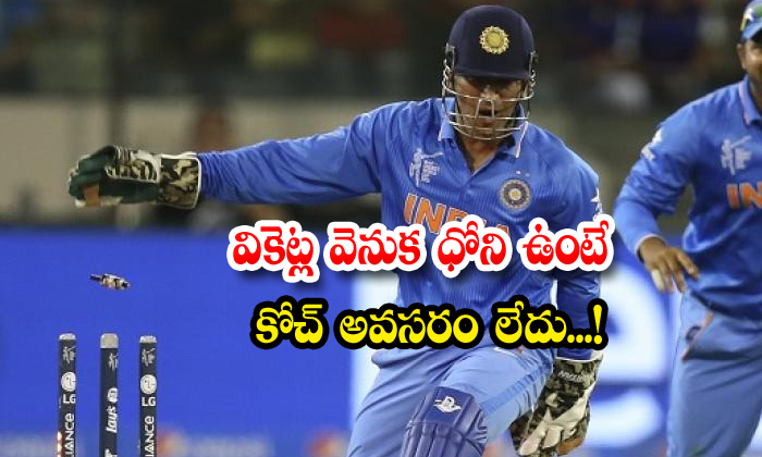 Msdhoni Kuldeep Singh Team India Keeping