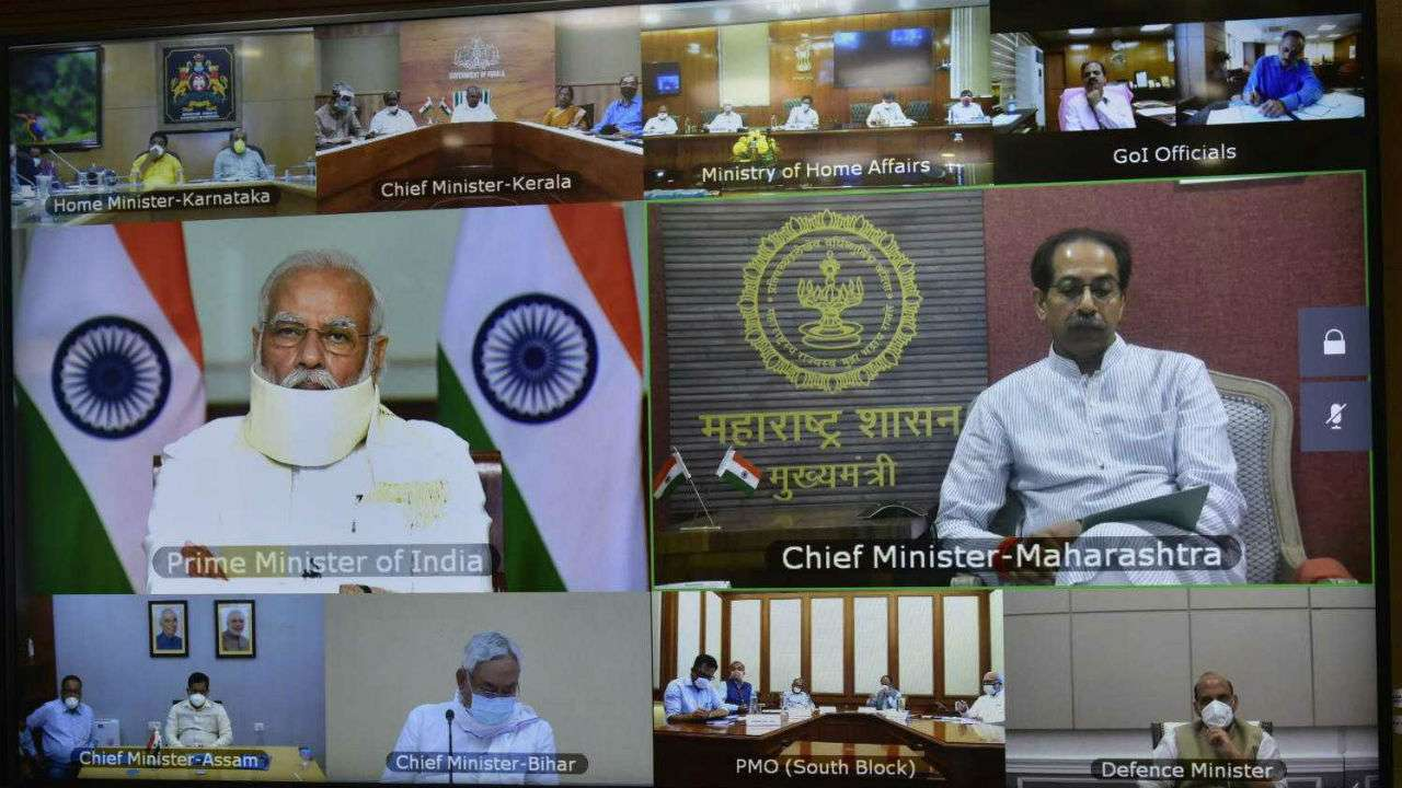 TeluguStop.com - Pm Modi Holds Key Meeting With The Six State Cms To Review Floods Situation