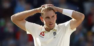 TeluguStop.com - Stuart Broad Fined 15% Of His Match Fees For Breaching Icc Code Of Conduct