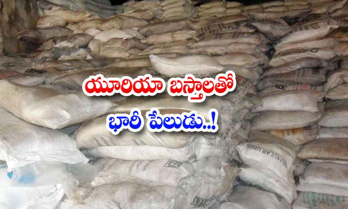 Urea Bags Blast Krishna Tungala Deelip