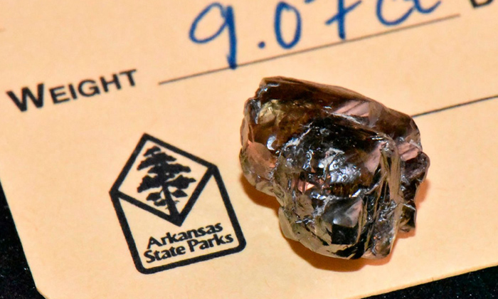 TeluguStop.com - A Man Found A 9 Carat Diamond While Jogging In A Park.