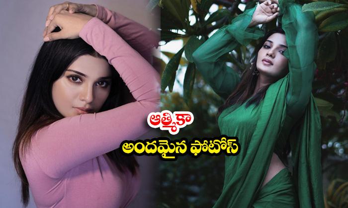 Actress Aathmika Sizzling images-ఆత్మికా అందమైన ఫొటోస్