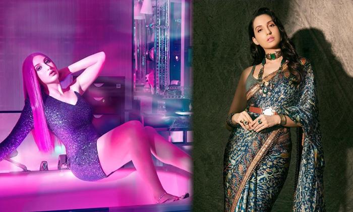 Actress Nora Fatehi Glamorous Images-telugu Actress Hot Photos Actress Nora Fatehi Glamorous Images - Telugu Bigg Boss 9 High Resolution Photo