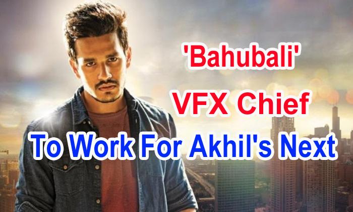 TeluguStop.com - 'bahubali' Vfx Chief To Work For Akhil's Next
