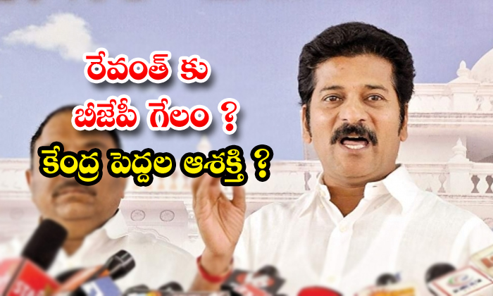 TeluguStop.com - Bjp Try To Joining On Revanth Reddy