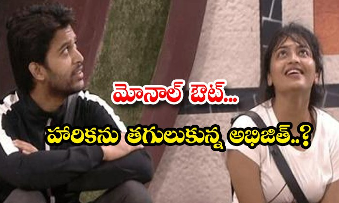 TeluguStop.com - New Love Story Between Abhijeet And Harika In Bigg Boss 4
