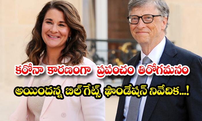 TeluguStop.com - Bill Gates Foundation Survey Corona Lockdown Situations