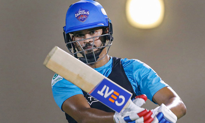 TeluguStop.com - After Virat Kohli, Now Shreyas Iyer Fined Rs 12 Lakh Against Sunrisers Hyderabad.