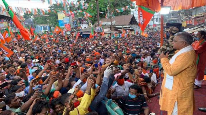TeluguStop.com - Corona Pandemic Is Gone: Bengal BJP President-General-English-Telugu Tollywood Photo Image