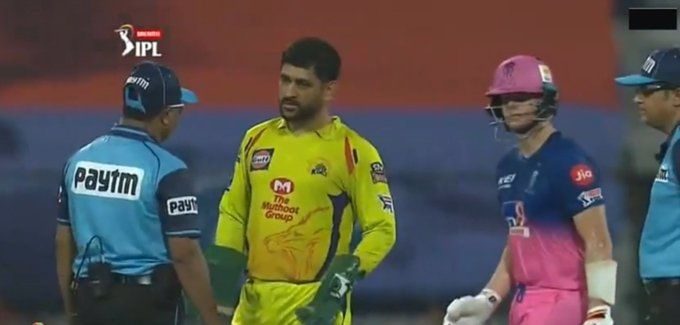 TeluguStop.com - Ipl 2020: Dhoni Loses Cool In The Match With Rr