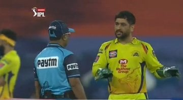 TeluguStop.com - IPL 2020: Dhoni Loses Cool In The Match With RR-General-English-Telugu Tollywood Photo Image