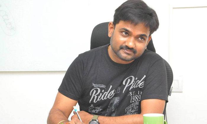 TeluguStop.com - జర్నలిస్ట్ ఎటకారంకి గట్టి కౌంటర్ ఇచ్చిన డైరెక్టర్ మారుతి-Breaking/Featured News Slide-Telugu Tollywood Photo Image