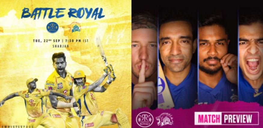 TeluguStop.com - IPL 2020, RR Vs CSK: Tough Fight For RR In The Absence Of Ben Stokes And Jos Buttler-General-English-Telugu Tollywood Photo Image