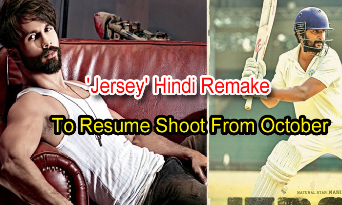 TeluguStop.com - 'jersey' Hindi Remake To Resume Shoot From October