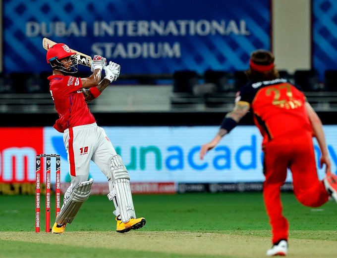 TeluguStop.com - IPL 2020: KL Rahul Sets New Records With His Unbeaten 132 Against RCB-General-English-Telugu Tollywood Photo Image