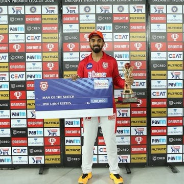 TeluguStop.com - Ipl 2020: Kl Rahul Sets New Records With His Unbeaten 132 Against Rcb
