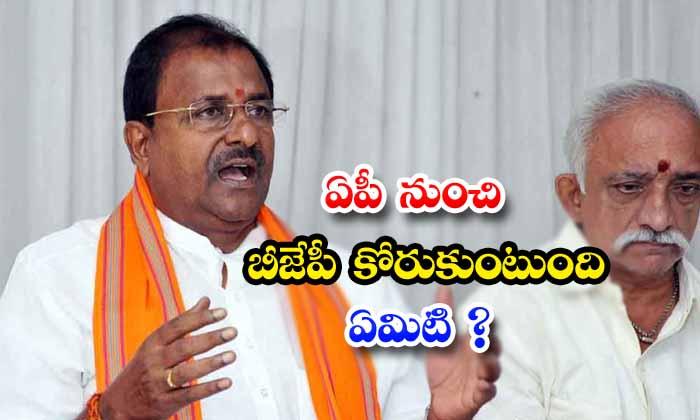 TeluguStop.com - Bjp Central Leaders No Clarity On Ap Politics