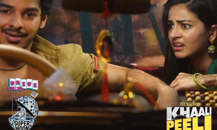 TeluguStop.com - Khaali Peeli' To Release In Drive-In Theatres In Gurugram And Bengaluru-Latest News English-Telugu Tollywood Photo Image