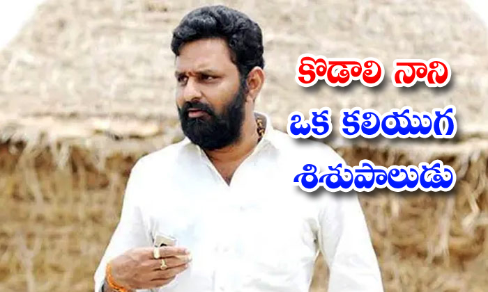 TeluguStop.com - Gvl Narasimha Rao Slams Ap Minister Kodali Nani