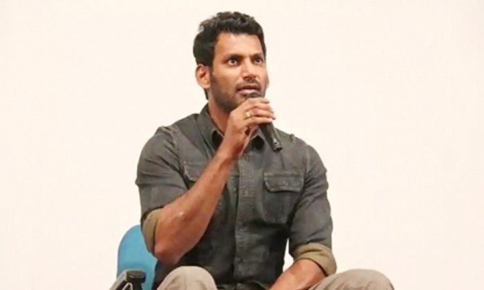 TeluguStop.com - Madras High Court Issues Notices To Hero Vishal On Chakra Movie.